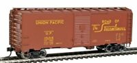 Walthers Mainline 910-1671 HO scale 40' 1944 Boxcar UNION PACIFIC #196018