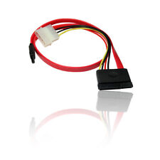 SATA Serial ATA Power & Data Combo Twin HDD Hard Disk Drive Data Cable Lead Wire