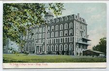 St Johns College Bronx New York City 1909 postcard