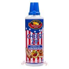 2x 227g Old fashioned Cheese Zip Cheddar SPRÜHKÄSE aus der Dose