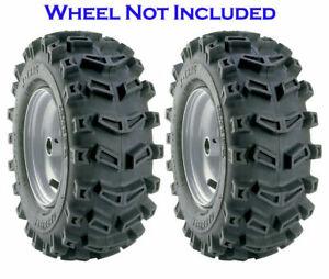 Carlisle Xtrac Lawn & Garden Snowthrower Tiller Tire 2ply 15x5.00-6 Pack of 2