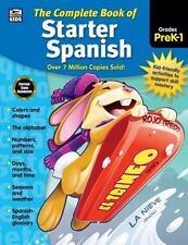 THE COMPLETE BOOK OF STARTER SPANISH GRADES PREK-1 - THINKING KIDS (COR)/ CARSON