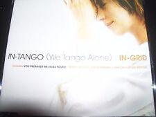 In-Grid – In-Tango (We Tango Alone) Australian Remixes CD Single – Like New