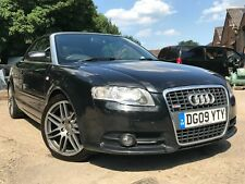 09 AUDI A4 CABRIOLET 2.0 TDI AUT FINAL EDITION-CONVERTIBLE, LEATHER, NAV,XENONS