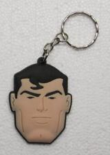 Avengers SUPERMAN Rubber KEY CHAIN Ring Keychain NEW