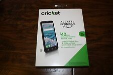 New Cricket Wireless Alcatel OneTouch Flint 4G 16GB Memory Prepaid Cell Phone
