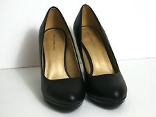 BANDOLINO Matte Black Pumps Size 10M - High Heels