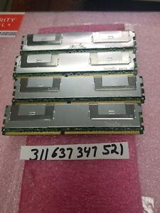 16GB KIT 4X 4GB 2RX4 PC2-5300F DDR2-667 240PIN ECC FB-DIMM FB DUAL RANK 256X4