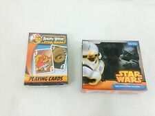 Star Wars, Angry Birds, Playing Cards w/ 2015 mini day at a time calendar