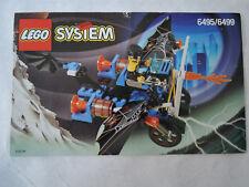 Lego de recette/INSTRUCTION System 6495/6499 ungelocht