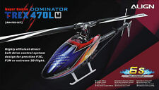 Align T-REX Trex 470LM Dominator Super Combo RC Helicopter Kit RH47E01X