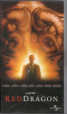 VHS film RED DRAGON 2002 Anthony Hopkins Edward Norton UNIVERSAL