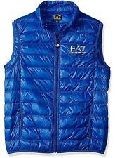 New EA7 Emporio Armani Gilet Jacket 8NPQ01 PN29Z Down Waistcoat Royal Blue 3XL