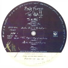 Pink Floyd. The Wall. Record label sticker.