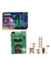 mega construx master of the universe origins castle grayskull playset