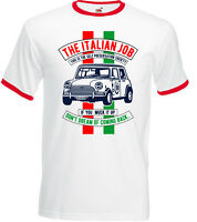 The Italian Job Mens Funny T-Shirt Mini Cooper Movie Classic Car Michael Cane