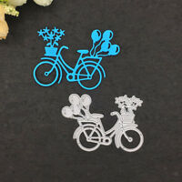 Plantillas de troqueles de corte de metal de globo de bicicleta para papel