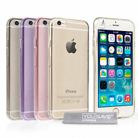 Yousave Accessories Apple iPhone 6 4.7 Ultra Thin Clear TPU Gel Phone Case Cover