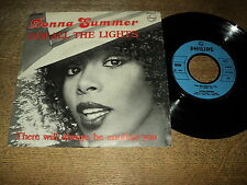 "DONNA SUMMER 45 TOURS 7"" BELGIUM DIMALL THE LIGHTS"