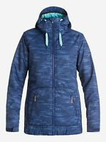 ROXY Women's VALLEY HOODIE Snow Jacket - BSQ6 - Small - NWT LAST ONE LEFT
