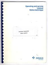 GOULD - DUAL CHANEL SIGNAL CONDITIONER 56-2400 OPERATOR AND SERVICE MANUAL