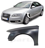 FOR AUDI A6 (C6) 2008 - 2011 NEW FRONT WING STEEL FENDER FOR PAINTING LEFT N/S