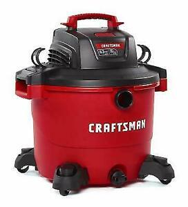 Craftsman 17595 Wet/Dry Heavy-Duty Vacuum Cleaner - Red