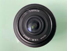 Nikon 10mm f/2.8 AF Wide Angle Lens