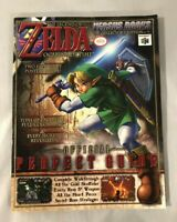 Legend Of Zelda Ocarina Of Time Official Perfect Strategy Guide Versus Books N64