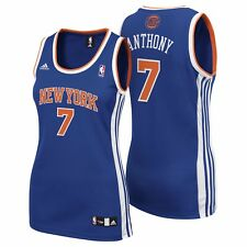 Femme Large New York Knicks Road Replica Jersey-Carmelo Anthony H674