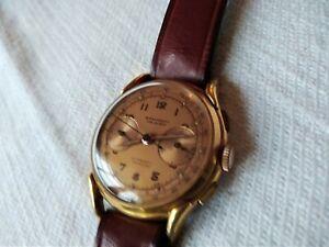 ancienne montre chronographe borel fils cie fab suisse vintage