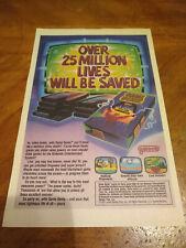 NES Game Genie - Vintage Comic Book Ad (1991)