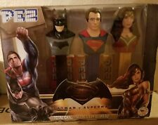 Brand New 3 Pez Batman Vs Superman Pez Candy & Dispensers