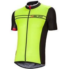 Nalini Men's Cycling Pro Sinello Ti Short Sleeve Jersey - FLUO/Black Size Small
