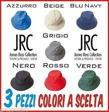 STOCK 3 pz JRC pescatore impermeabile REVERSIBILE interno pile CAPPELLO 7 colori