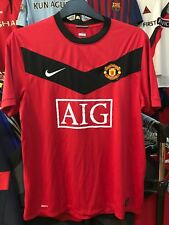Men's Manchester United home football shirt size L Nike 2009-2010