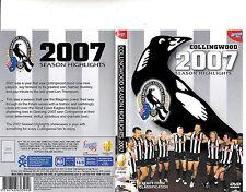 Collingwood Season Highlights-2007-Official AFL-Football Australia-DVD