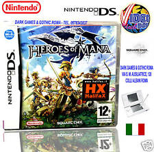 HEROES OF MANA DS NUOVO NINTENDO NDS DSL SQUARE ENIX