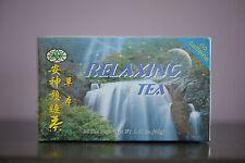 Relaxing Tea Caffeine Free Herbal 20 Tea Bags - Valerian, Polygonum Cane, China