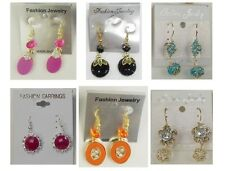 A-8 Wholesale Jewelry lots 12pairs Mixed Style Small  Fashion Earrings