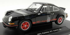 Welly Diecast Escala 1/18 - 18044 W 1973 Porsche 911 Carrera RS Negro/Rojo