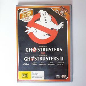 Ghostbusters 1 & 2 Movie DVD Region 4 AUS Free Postage - Scifi Action