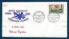 FRANCE - FRANCIA - 1960 - FDC - Convegno degli stati generali dei comuni . E2935