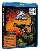 Jurassic World 5 Film Collection - Cofanetto Con 5 Blu Ray - Nuovo Sigillato