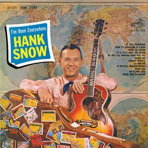 Hank Snow - I've Been Everywhere [New CD]