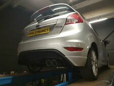 Fiesta 1L Ecoboost MK7/7.5 Back Box Delete Exhaust - TO FIT ST DIFFUSER - SS