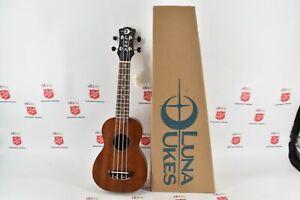 Luna Ukes VM Soprano Handcrafted Ukulele New #XY20082519 (1786)