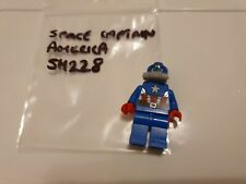 LEGO Super Heroes Space Captain America 76049 Minifig SH228 Marvel