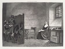 Marie Antoinette Queen Of France In Prison Conciegerie Paris 1894 Photogravure