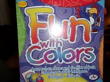 Fun With Colors Learning Dvd, Workbook and Card Game Set Nip